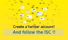 Staff -create a twitter account