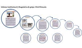 Informe Institucional y Diagnóstico de grupo