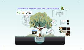 PROYECTOS LOCALES DE INCLUSION DIGITAL