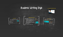 Basic Writing: Academic Writing Style