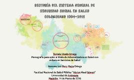 rectotría del sISTEMA gENERAL DE sEGURIDAD SOCIAL EN sALUD C