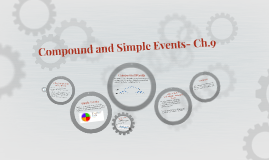 Compound and Simple Events- Ch.9