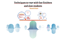 Techniques to cope with fast finishers and slow students