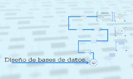 Diseño de bases de datos.
