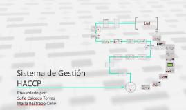 Sistema de Gestión HACCP