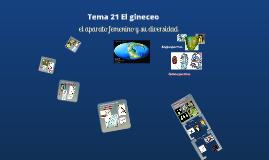 2017. El gineceo (T21) para Ambientales.