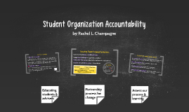 Student Org Accountability