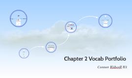 Chapter 2 Vocab Portfolio