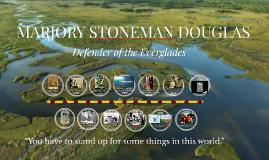 Copy of EVST326: MARJORY STONEMAN DOUGLAS