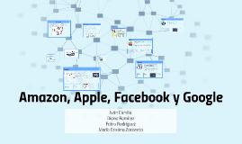 Amazon, Apple, Faceboo y Google
