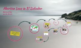 Abortion Laws in El Salvador