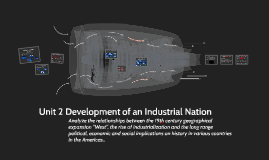 Unit 2 Development of an Industrial Nation
