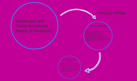 intellectual and social-emotional needs of newborns