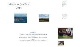 Misiones Quellón 2014