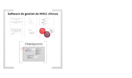 Software de gestión de HHCC