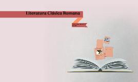 Literatura Clásica Romana