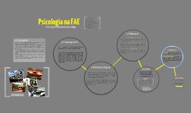 Psicologia na FAE: Formação profissional do psicólogo