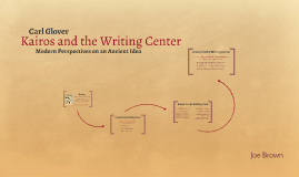 Kairos and the Writing Center
