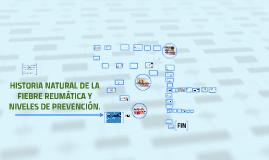 HISTORIA NATURAL DE LA FIEBRE REUMÁTICA Y NIVELES DE PREVENC