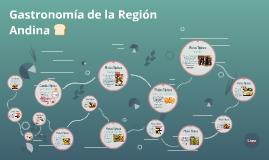 Gastronomía dela Región Andina
