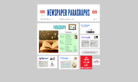 NEWSPAPER PARAGRAPHS
