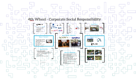 4th Wheel - Corporate Social Responsibility