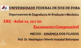 MEC051 - DINÂMICA DOS FLUIDOS - AULAS 25/26/27/28