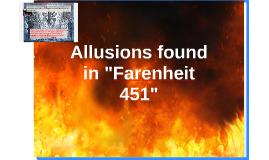 "Allusions in ""Farenheit 451"""