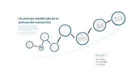 Proceso planeacion transactiva