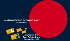 MANTENCION ELECTROMECANICA