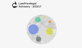 Law/Paralegal Advisory - 3/23/17