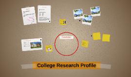 College Research Profile