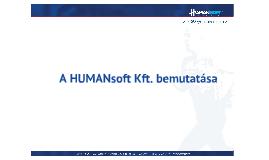 Copy of HUMANsoft bemutatása rövid