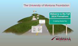 Fall 2014 Phonathon Presentation
