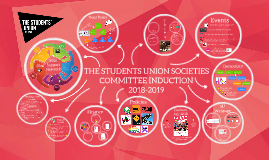 THE STUDENTS' UNION SOCIETIES COMMITTEE INDUCTION 2018-2019