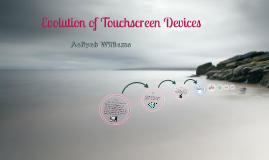 Evolution of Touchscreen Devices