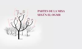 PARTES DE LA MISA