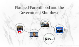 Planned Parenthood and the Government Shutdown