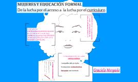 MUJERES Y EDUCACIÓN FORMAL
