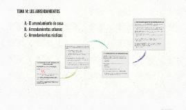TEMA 14: LOS ARRENDAMIENTOS