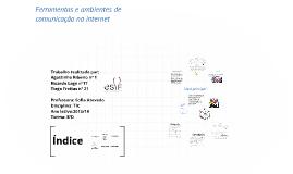 Copy of Ferramentas E AMBIENTES DE COMUNICAÇÃO NA INTERNET