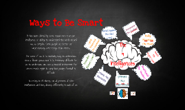 9 Ways to Be Smart