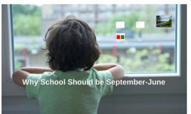 School: Sept-June