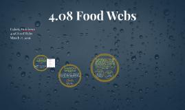 4.08 Food Webs