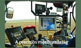 A precíziós mezőgazdaság