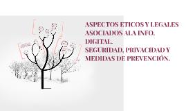 Copy of ASPECTOS ÉTICOS Y LEGALES ASOCIADOS A LA INFORMACIÓN DIGITAL