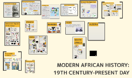 Modern African History: 19th Century - Present Day: Unit 4