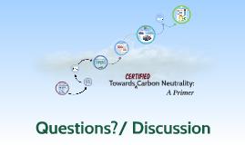 UTAS Towards Carbon Neutrality
