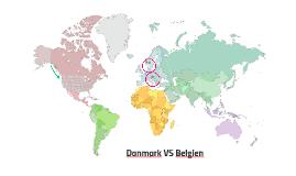 Danmark VS Belgien