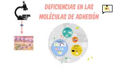 Copy of DEFICIENCIAS EN LAS MOLÉCULAS DE ADHESIÓN